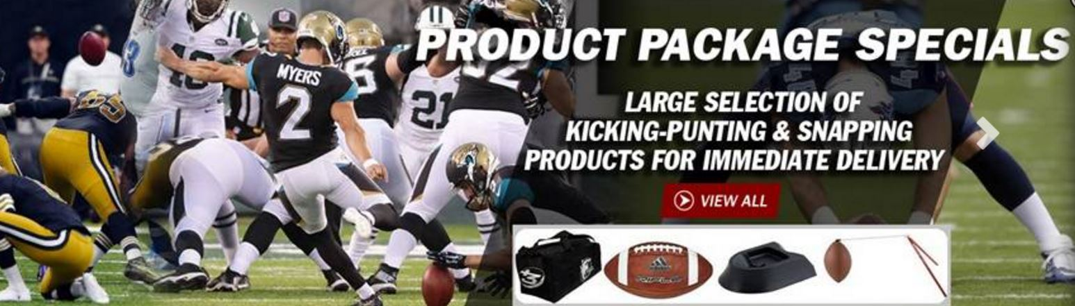 kicking punting kicker punter products sale tee holder footballs